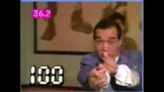 ポール牧師匠の指パッチン100回何秒かかるのか!?お笑いウルトラクイズ