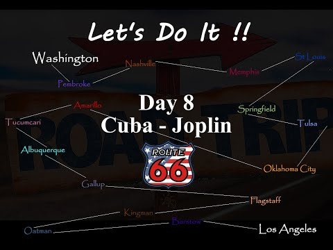 American Road Trip, Route 66, Day 8, Cuba to Joplin