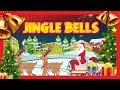 Jingle Bells song for children  Merry Christmas  Kids Hut