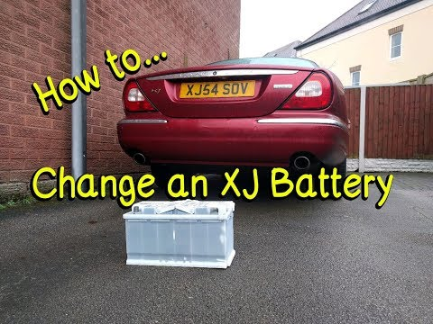 How To – Replace a Jaguar XJ (X350) Battery