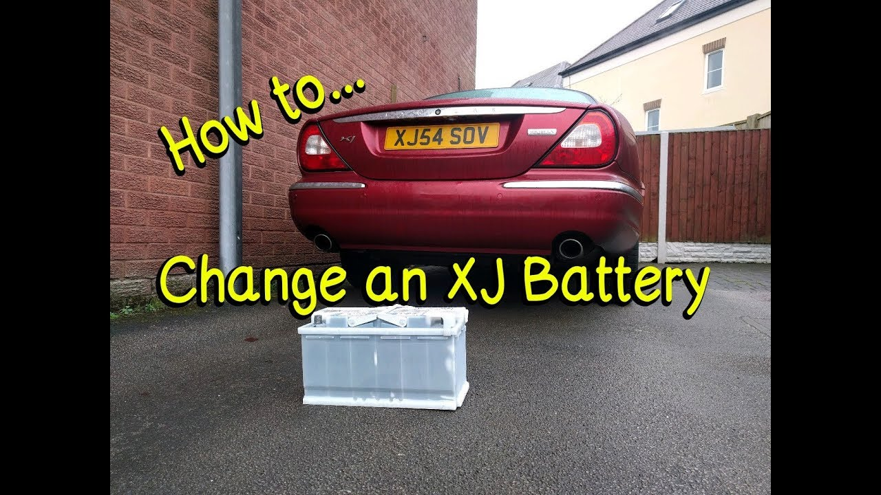 How To Replace A Jaguar Xj X350 Battery