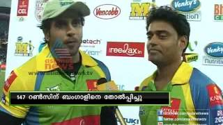 Stars of yesterday match Rajeev Pillai and Rakendu CCL 2013
