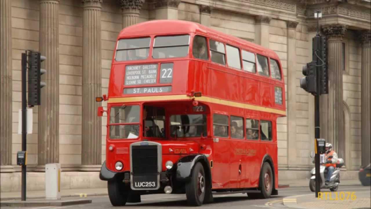Rt75 Rt Bus 75th Anniversary Bank London 12th April 2014