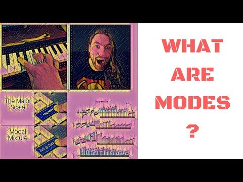 Understanding Modes in Music - Writing With Modes - Scale Formulas