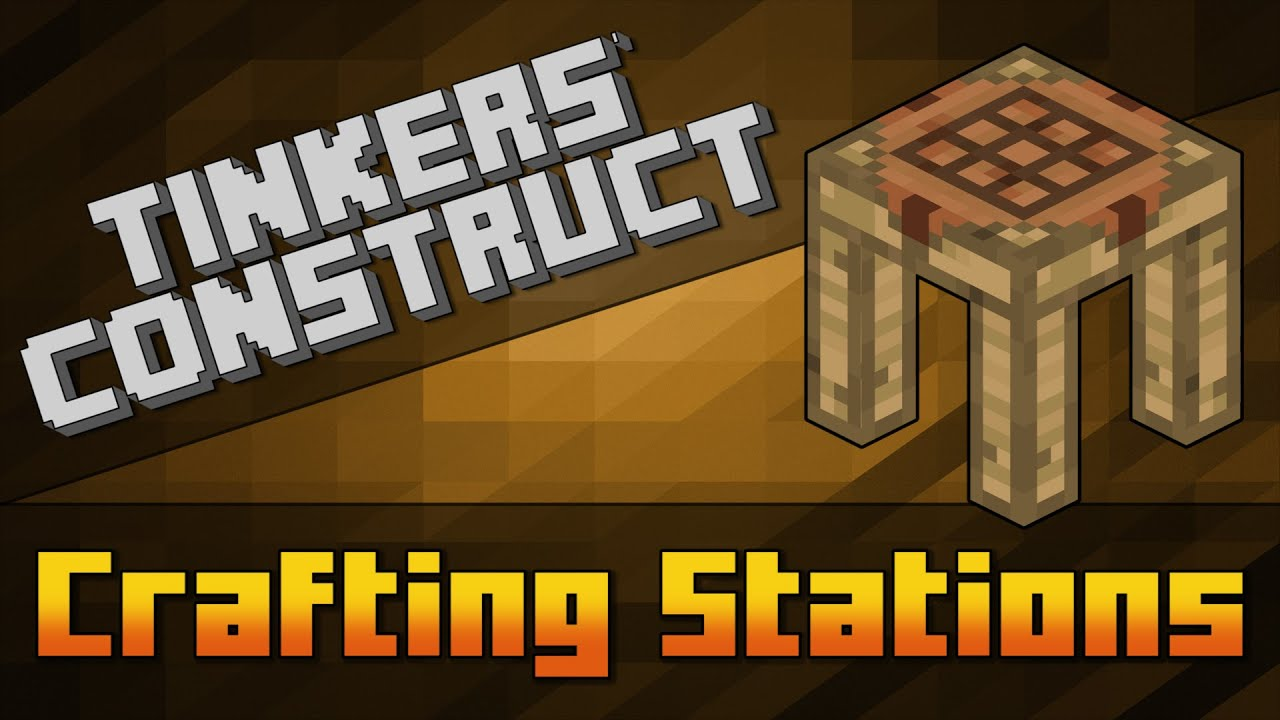 Crafting Station Tinkers Construct