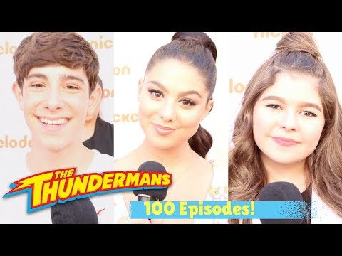 Kira Kosarin, Diego Velazquez & Addison Riecke Celebrate 100 Episodes of THE THUNDERMANS