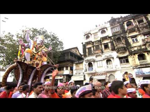 Maharashtra bid adieu to Lord Ganpati