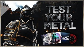 For Honor - Test Your Metal Funny Moments! W/ ILLEST TRUTH, Talon Dillard, T-Millz