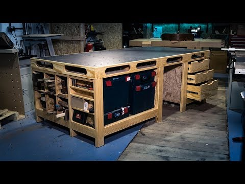 Building the ULTIMATE Power Tool Workbench