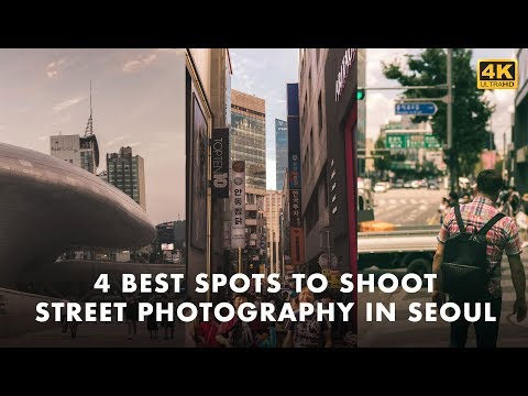 4 Best Spots for Street Photography in Seoul, South Korea