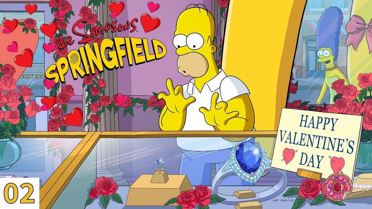 Die Simpsons Springfield 02 Valentinstag 2019 Deutsch Let S