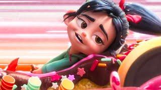 New Track in Sugar Rush Scene - WRECK-IT RALPH 2 (2018) Movie Clip