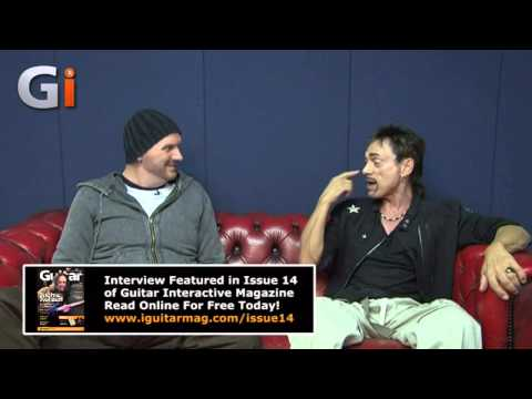 Andy Fraser Free Bassist Interview - Guitar Interactive Magazine - Marshall 50 Years Of Loud!