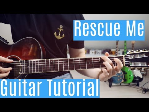 Rescue Me - OneRepublic | Guitar Tutorial/Lesson | Easy How To Play (Fingerstyle +Chords)