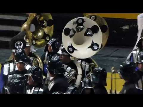 Caracas marching band and drill team school competition (the Dark Side)