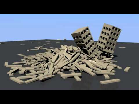blender 2.5 basic planks physics game