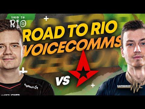 NiP COMMS: Vs Astralis In Road To Rio  -  EAVESDROP | Ninjas In Pyjamas [ENG Subs]