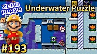 Underwater Puzzle | Super Mario Maker Part 193