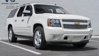 Comparison: 2014 Chevrolet Suburban LTZ vs. LT vs. LS