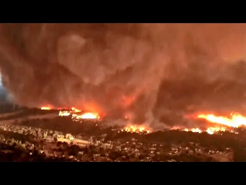 Scientists Amazed by Epic, Deadly Fire Tornado