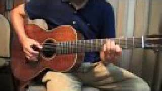 """Cannonball Rag"" acoustic guitar solo"