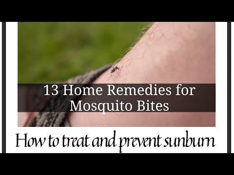 Mosquito bite home remedy | 13 Home Remedies for Mosquito Bites