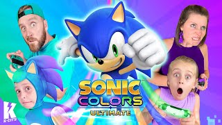 SONIC Colors Ultimate Family Challenge!!! K-City