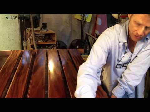 14 How To Apply A Tung Oil Based Finish - SOLID WOOD DOOR SERIES - Video 4