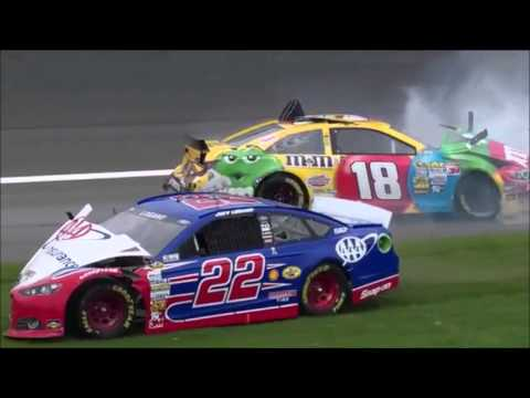NASCAR Crash Compilation: Joey Logano