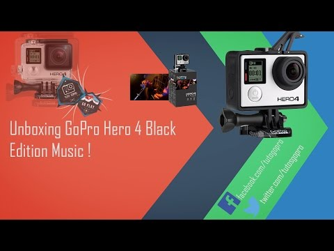Unboxing GoPro Hero 4 Black Music !