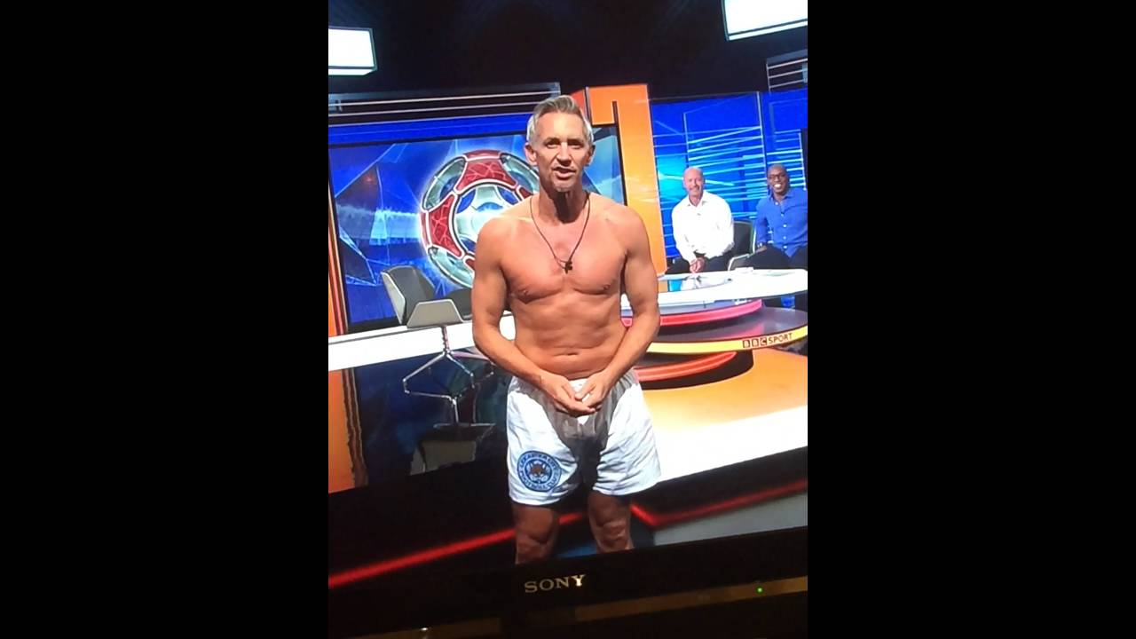 Download Gary Lineker Presents Match Of the Day in his Underwear!