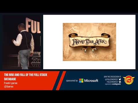 The rise and fall of the full stack database (Frank Lyaruu)