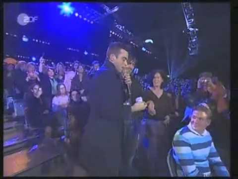 Robbie Williams live-Advertising Space-Wetten Dass 2005