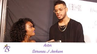 Insecure - Sarunas J. Jackson Talks Being Apart of the Cast & Working with Issa Rae