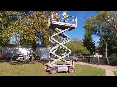 hqdefault 1994 sky jack sj7027 scissor lift for sale no reserve internet skyjack sj7027 wiring diagram at aneh.co