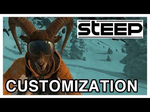 STEEP Character Customization Gameplay [PS4 1080p]
