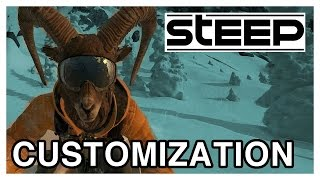 STEEP Character Customization Gameplay [PS4 1080p]