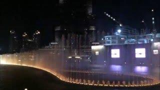 Espectáculo de las fuentes del Burj Khalifa - Dubai