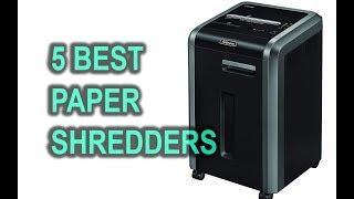 Best Paper Shredders | Micro Cut Shredder