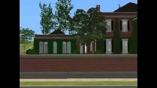 Sims 2 Classic Georgian Mansion Part 1
