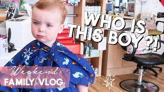 WEEKEND VLOG | WHO IS THIS BOY?! | FAMILY VLOG
