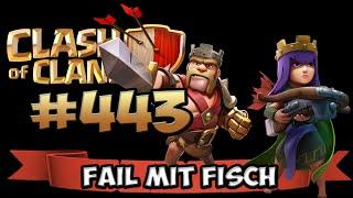 CLASH OF CLANS #443 [FACECAM] ★ LÄUFT MAL WIEDER ALLES KACKE ;O★ Let's Play COC ★ German Deutsch HD