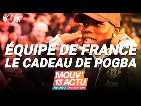 ÉQUIPE DE FRANCE : le cadeau de Pogba