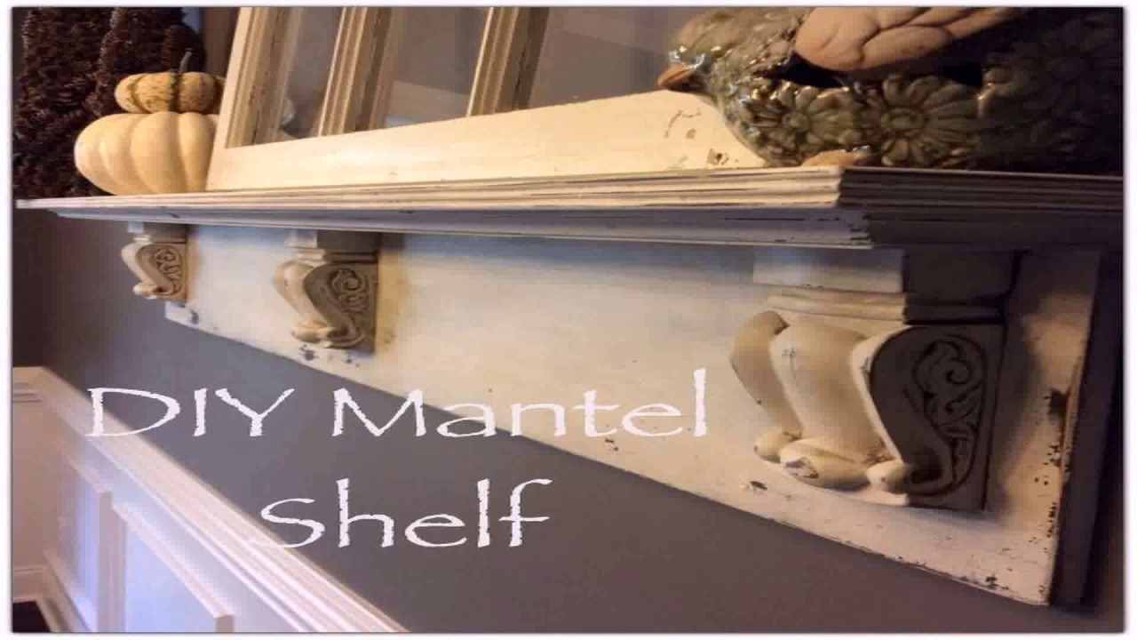 Diy Mantel Shelf Ideas