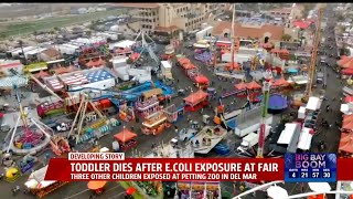 Toddler Dies After E. Coli Exposure At Fair
