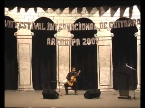 """Idylle pour Ida"" John W. Duarte performed by  Guitarist Adam Khan in Peru 2009"
