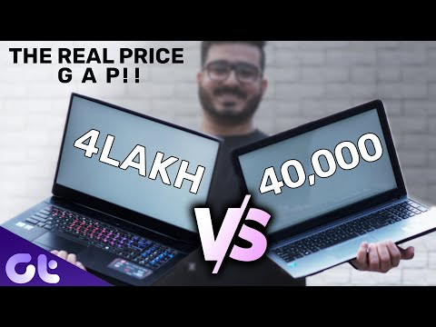 4 LAKH Laptop vs 40000 Laptop | The REAL PRICE GAP Effect | Guiding Tech