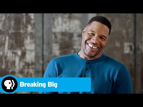 Michael Strahan Starting A Television Career | BREAKING BIG | PBS