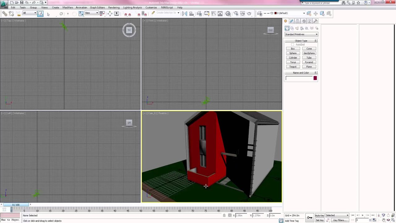 Learning Archicad Tutorial 14 Exportar e Importar Modelo a 3ds Max + vray