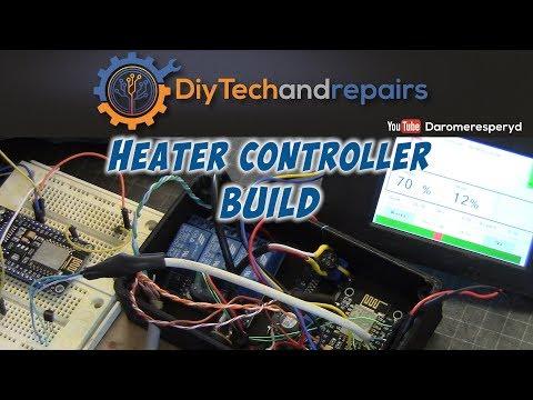Heater system build DIY - ESP8266 and MQTT pt4